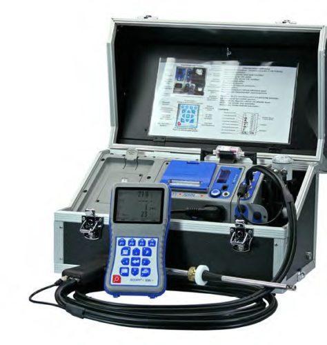Kannettava kaasuanalysaattori